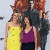 Les divines Diane Kruger et Mélanie Laurent... entourent un Brad Pitt déchaîné à Berlin !