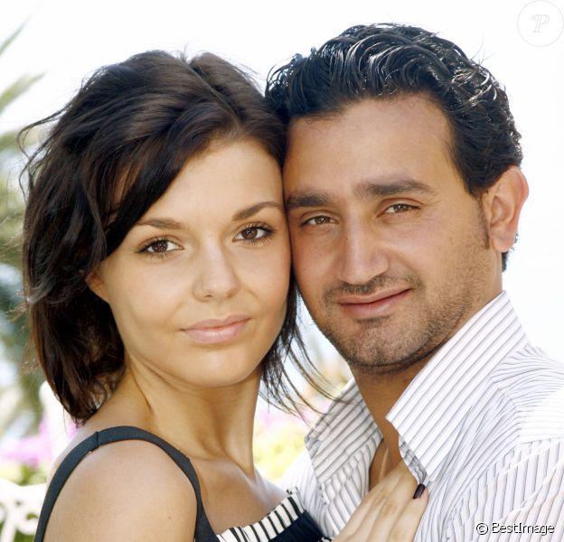 Cyril Hanouna et sa compagne Emilie à San Remo le 14/07/2007