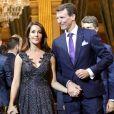 Le prince Joachim de Danemark et la princesse Marie de Danemark - Dîner à l'hôtel de ville de Paris en l'honneur du couple princier du Danemark le 8 octobre 2019. © Dominique Jacovides / Bestimage