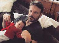 Samuel Le Bihan : Adorable moment de complicité avec sa fille de 1 an, Emma-Rose