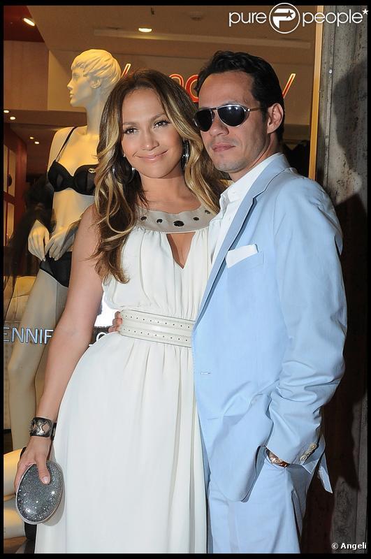 Jennifer Lopez a fait sensation le 30/07/09 avec son époux Marc Anthony à Rome