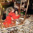 """Rihanna pose pour la campagne publicitaire de """"Savage x Fenty"""". New York, le 20 novembre 2019."""