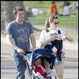 Jennifer Garner, Ben Affleck et leurs petites filles, Violet et Seraphina