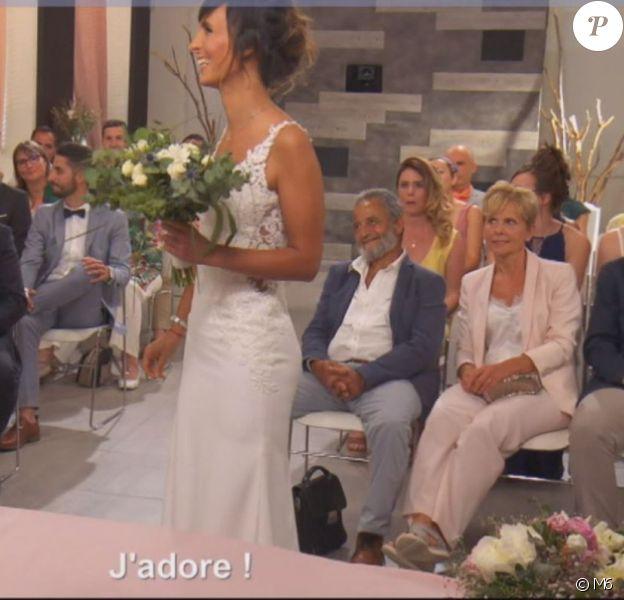"""Mariage de Mélodie et Romain dans """"Mariés au premier regard 2020"""", le 13 janvier, sur M6"""
