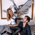 Mélanie Dedigama et Vincent complices sur Instagram, le 16 novembre 2018