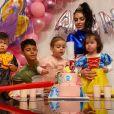 Au Portugal pour s'entraîner avec l'équipe nationale, Cristiano Ronaldo a publié une photo de l'anniversaire de sa fille Alana Martina qui a eu 2 ans le 12 novembre 2019.