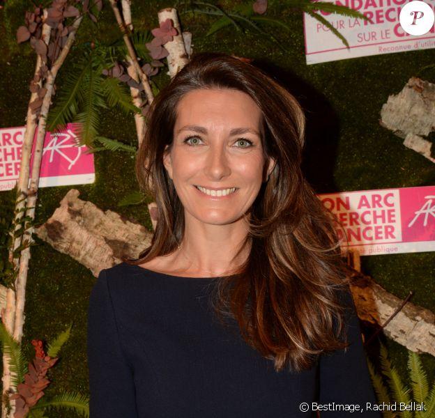 Exclusif - Anne-Claire Coudray (Maîtresse de cérémonie) - Dîner de la Fondation ARC au Pavillon Cambon à Paris, le 1er octobre 2018. © Rachid Bellak/Bestimage