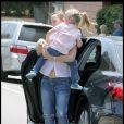 Jennifer Garner et Violet ou la famille Ronchon ! (Brentwood, 1er août 2009)