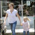 Jennifer Garner et Violet... ou la famille Ronchon ! (Brentwood, 1er août 2009)