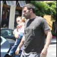 Jennifer Garner, Ben Affleck, Violet... ou la famille Ronchon ! (Brentwood, 1er août 2009)