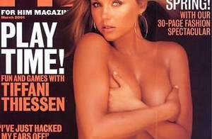 La craquante Tiffani-Amber Thiessen... n'a jamais été aussi hot ! Regardez !