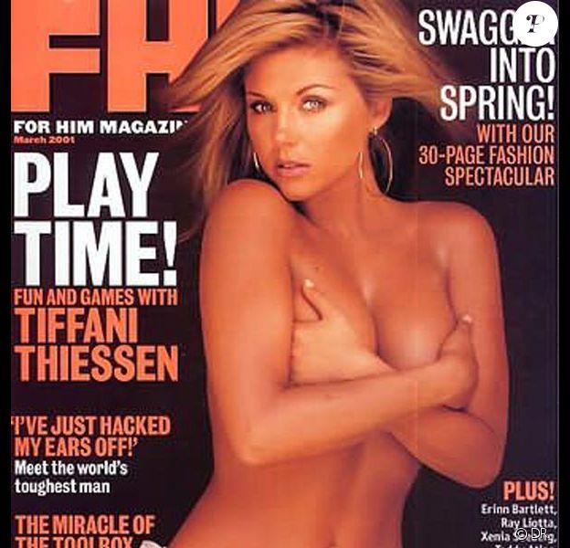 Tiffani Thiessen, torride en couverture de FHM !