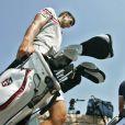 Novak Djokovic, 4e mondial de tennis, joue au golf dans les environs de Zagreb