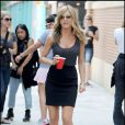 Jennifer Aniston sur le tournage de  Bounty Hunter , dans le quartier de Harlem, à New York, le 3 août 2009 !