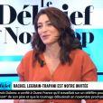 """Rachel Legrain-Trapani explique pourquoi elle ne souhaite pas médiatiser son futur enfant, sur le plateau du """"Débrif"""", le 16 janvier 2020."""