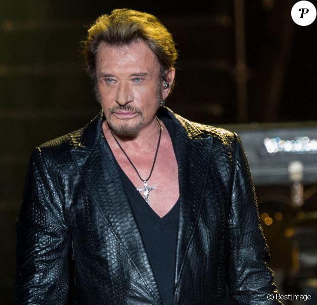 """Exclusif - Premier concert de la tournee """"Born Rocker Tour"""" de Johnny Hallyday au POPB de Bercy a Paris. Le 14 juin 2013."""