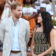 Le prince Harry, duc de Sussex, et Meghan Markle, duchesse de Sussex, se rendent à la résidence de l'ambassadeur à Cape Town, au 2 ème jour de leur visite en Afrique du Sud. Le 24 septembre 2019