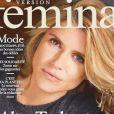 """Alice Taglioni en couverture de """"Version Femina"""", numéro du 20 au 26 janvier 2020."""