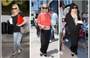 Lindsay Lohan, trois looks en un jour... tous à jeter !