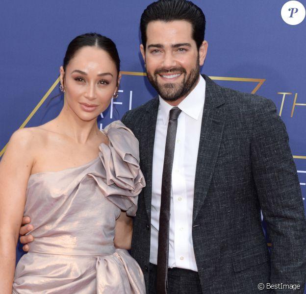 Cara Santana et son fiancé Jesse Metcalfe à la 47ème soirée des AFI Life Achievement Award en l'honneur de Denzel Washington au théâtre Dolby à Hollywood, Los Angeles, le 6 juin 2019.