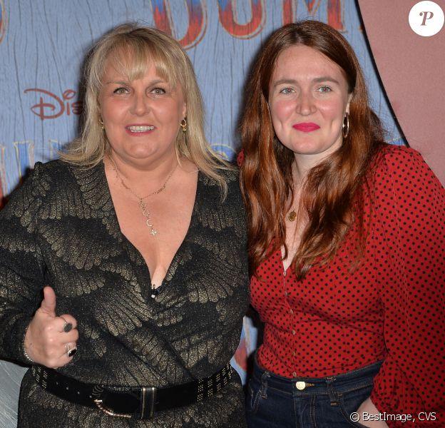 """Valérie Damidot et et sa fille Roxane - Première du film """"Dumbo"""" au Grand Rex à Paris le 18 mars 2019. © CVS/Bestimage """"Dumbo"""" Paris"""
