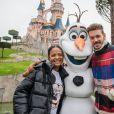 Christina Milian et son compagnon M. Pokora (Matt Pokora) - People lors du lancement des nouvelles attractions au parc Disneyland à Paris. Le 16 novembre 2019 © Disney via Bestimage