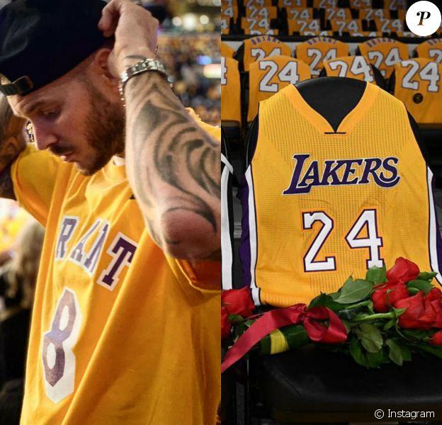 M. Pokora au Staples Center pour honorer Kobe Bryant : émotion et souvenirs