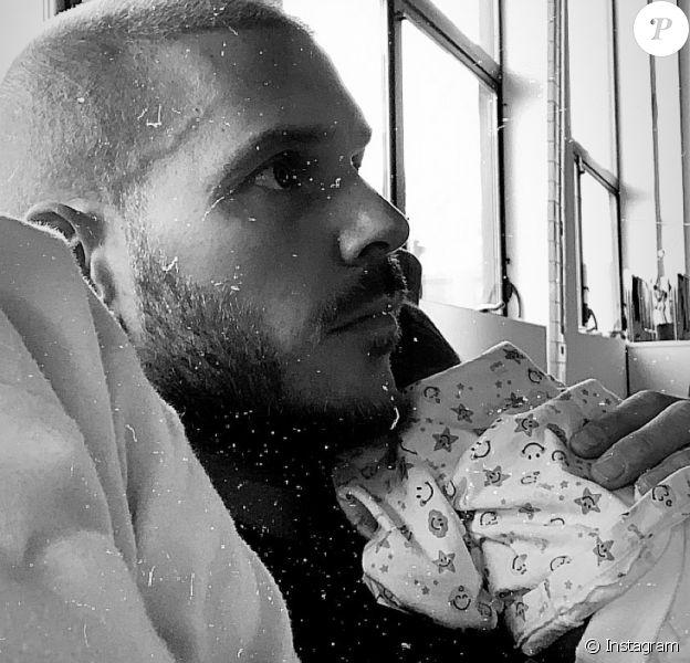 Christina Milian dévoile une photo de M. Pokora avec son fils Isaiah dans les bras, le 2 février 2020.