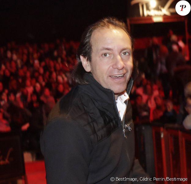 """Philippe Candeloro - 21ème arbre de Noël de l'association """"Citéstars"""" au cirque Phénix en présence de 150 enfants défavorisés à Paris, le 12 janvier 2020. © Cédric Perrin/Bestimage"""