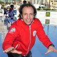 Philippe Candeloro lors de la journée du championnat de patinage et gala de fin de saison sur la patinoire au port Hercule à Monaco, le 2 mars 2019. © Bruno Bebert/Bestimage