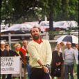 Archives- Claude Brasseur- Golf à Deauville en 1983.