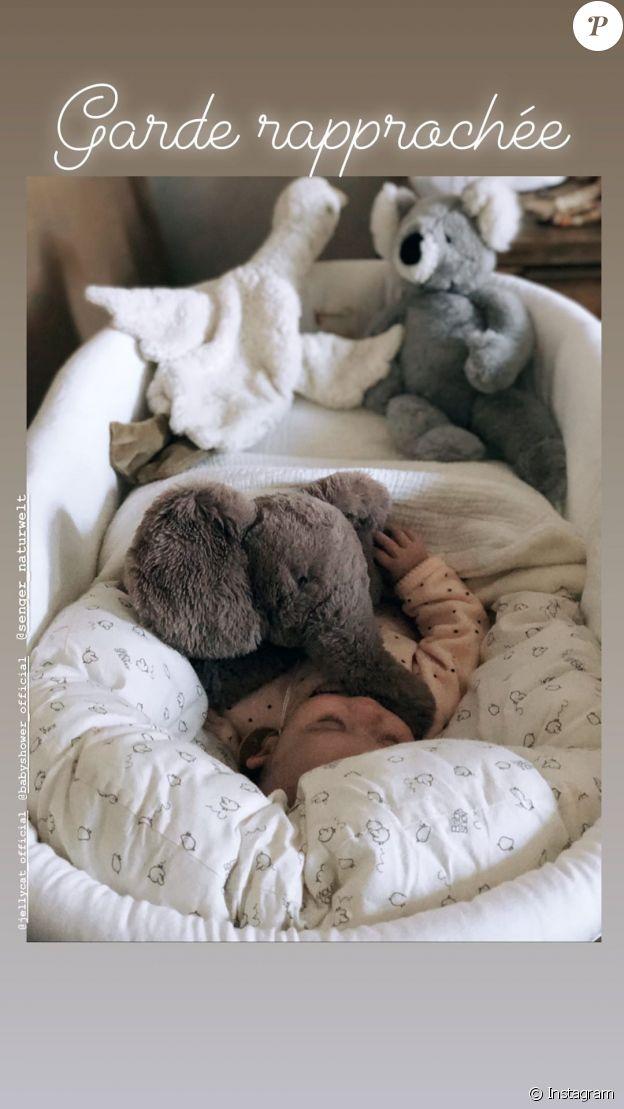 Alizée Lyonnet dévoile une photo de sa fille Maggy, le 2 février 2020 sur Instagram.