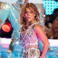 Shakira, Jennifer Lopez sur scène pour le show lors de la mi-temps du 54 ème Super Bowl au Hard Rock Stadium à Miami le 2 février 2020.