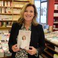 """La journaliste Valérie Trierweiler dédicace son nouveau livre """"On se donne des nouvelles"""" à la librairie Filigranes à Bruxelles, Belgique, le 2 octobre 2019."""