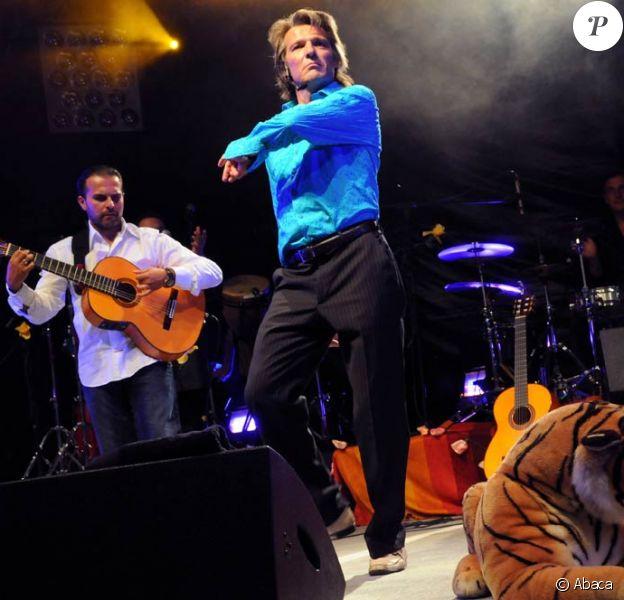 Yvan Le Bolloc'h et Ma guitare s'appelle reviens au festiva Brive Plage 2009, le 8 août 2009