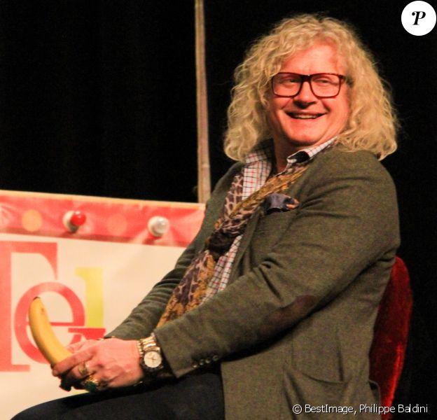 Exclusif - Pierre-Jean Chalençon - Soirée Absolutely Hilarious au Théâtre des Mathurins à Paris le 10 février 2020. © Philippe Baldini / Bestimage 10/02/2020 - Paris