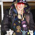 Madonna arrive à l'aéroport de New York (JFK), le 16 juin 2019.