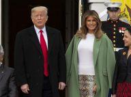 Melania Trump en jupe python hors de prix : nouvel éclat mode à Washington