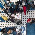 """Exclusif - Soirée spéciale Saint Valentin """"Toi & Moi"""" avec la participation de Mauboussin et Fauchon L'Hôtel Paris à la boutique Mauboussin à Paris, France, le 13 février 2020. © Pierrre Perusseau/Bestimage"""