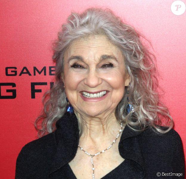 """Lynn Cohen - Avant-première du film """"Hunger Games: Catching Fire"""" à New York, le 20 novembre 2013."""