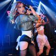 Carmit Bachar -Les Pussycat Dolls jouent au GAY à Londres 14 ans après leur premier concert live dans ce lieu. Londres le 22 Février