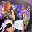 Carmit Bachar, Nicole Scherzinger -Les Pussycat Dolls jouent au GAY à Londres 14 ans après leur premier concert live dans ce lieu. Londres le 22 Février