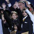 Les enfants de Michael Jackson, Paris, Prince Michael et Prince Michael II surnommé Blanket