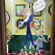 Vernissage de l'exposition Christian Louboutin l'Exhibitionniste au palais de la porte Dorée à Paris le 24 février 2020. © Giancarlo Gorassini / Bestimage