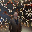 """Christian Louboutin assiste au vernissage de son exposition, """"Christian Louboutin l'Exhibitionniste"""" au Palais de la Porte Dorée à Paris le 24 février 2020. © Giancarlo Gorassini / Bestimage"""