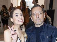 Gad Elmaleh : Modeux complice avec Ashley Benson au défilé Giambattista Valli