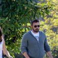 Exclusif - Jennifer Garner et Ben Affleck accompagnent ensemble leurs enfants à l'école à Los Angeles, le 4 octobre 2019.