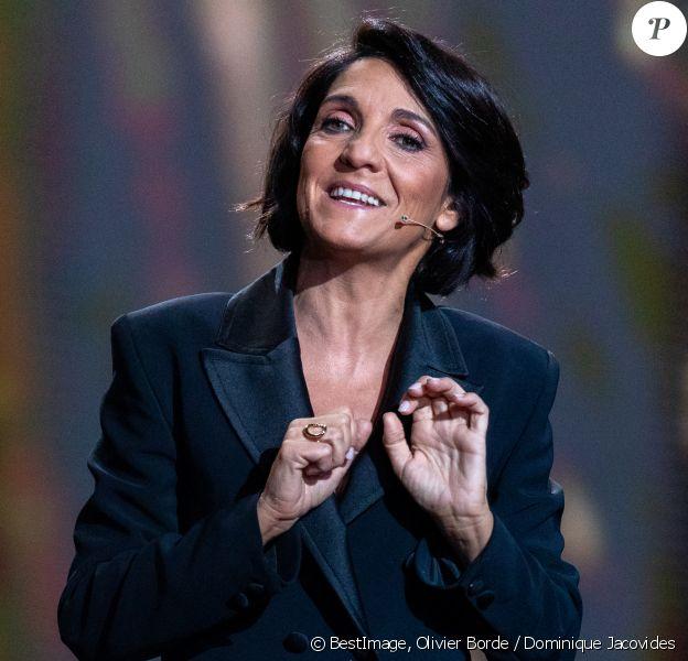 Florence Foresti, maitresse de cérémonie lors de la 45e cérémonie des César à la salle Pleyel à Paris le 28 février 2020 © Olivier Borde / Dominique Jacovides / Bestimage
