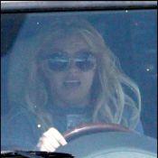 Britney Spears aux commandes d'un monstre à quatre roues... Elle maîtrise !
