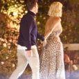 Exclusif - Katy Perry et son fiancé Orlando Bloom quittent l'évènement Amazon Prime 'Carnival Row' à l'hôtel San Vicente Bungalows à West Hollywood, le 9 août 2019.